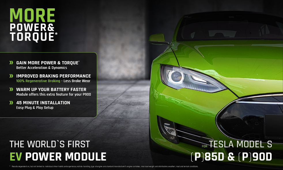 The world's first EV PowerModule - Tesla Model S